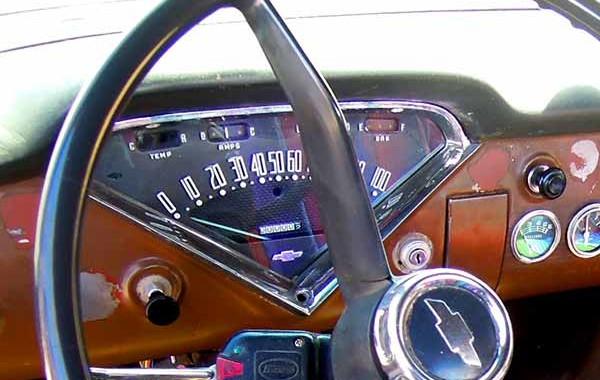 59 Chevy Apache Truck Dash