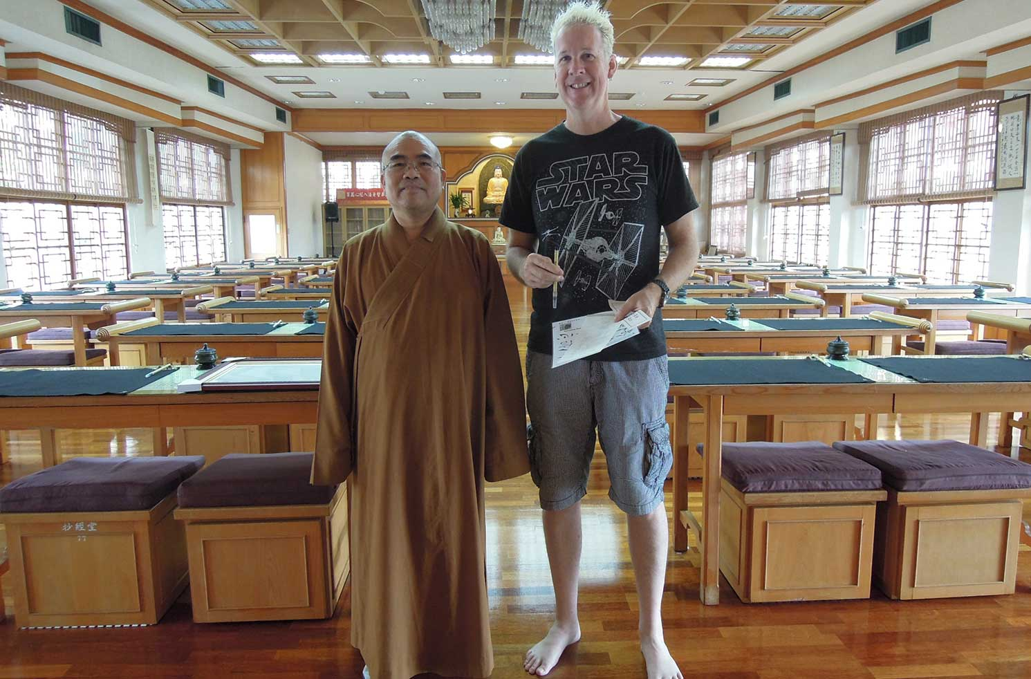 How to Stay in a Buddhist Temple